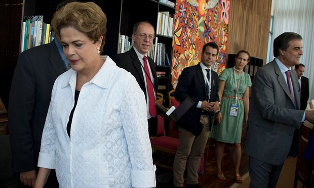 Brazil's senate ejected Dilma Rousseff from office impeachment