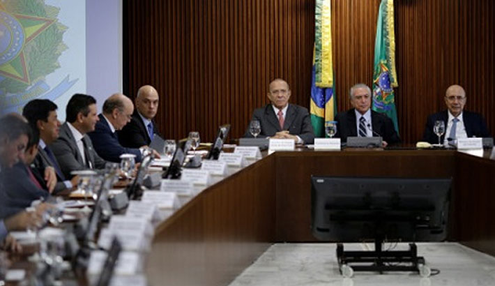 Brazil interim government