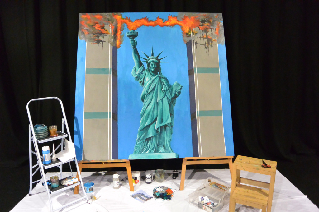 Statue of Liberty - September 11th - Camden Peoples Theatre - The Cockpit Theatre