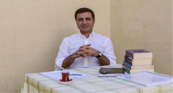 Selahattin Demirtas in the F-Type prison, Edirne